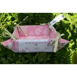 Broodmandje roze