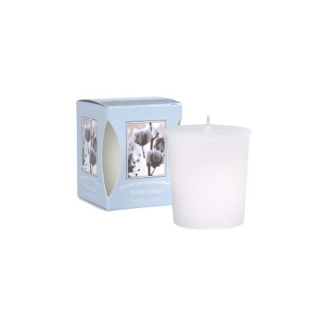 Votive White Cotton