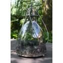 Windlicht lantaarn 25 cm hoog op pootjes