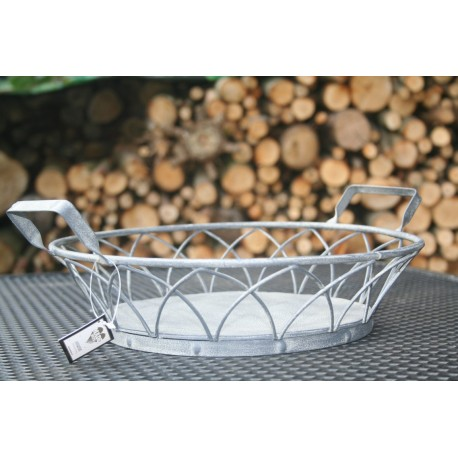 Metalen basket doorsnede 35 cm