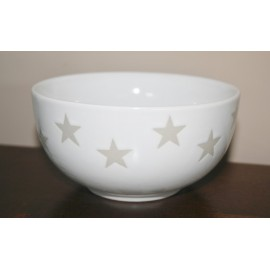 Bowl star wit 13 cm