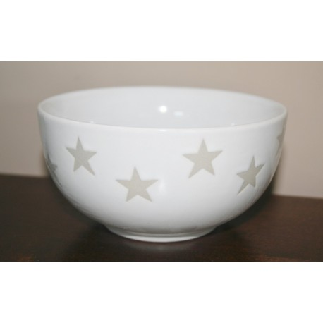 Bowl star wit 13 cm
