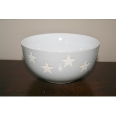 Bowl star grijs 13 cm