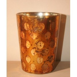 Votive Copper-Gold 12 cm
