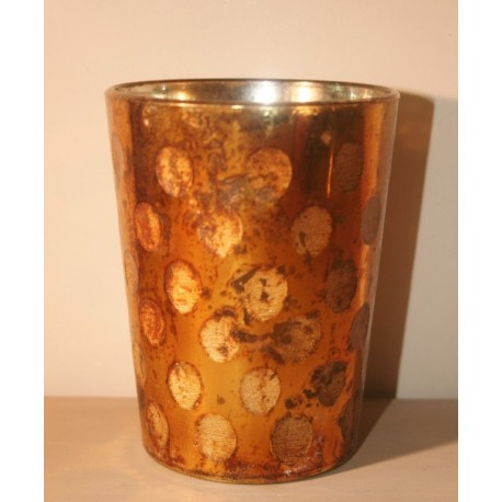 Votive Copper-Gold 12 cm