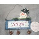 Ornament kersthanger Blauw