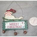 Ornament kersthanger Groen