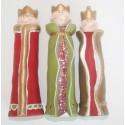 Drie Koningen glanzend (set van 3) 14 cm hoog