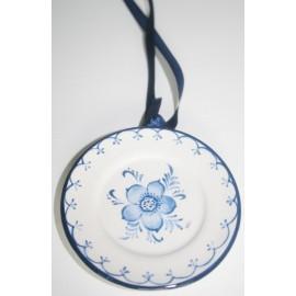 Hang bord Delfts blauw (S) 8x 8 cm