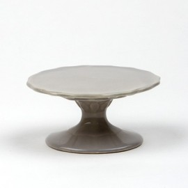 Cake Plate mini grey 10 cm