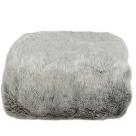 Fleece plaid Greyfur 170 X 120 cm