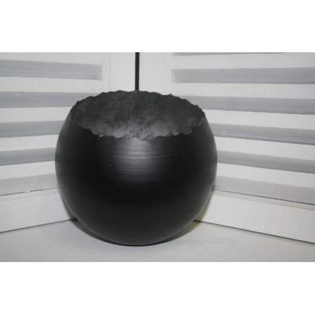 Metal round Ball hurricane Medium 15 cm