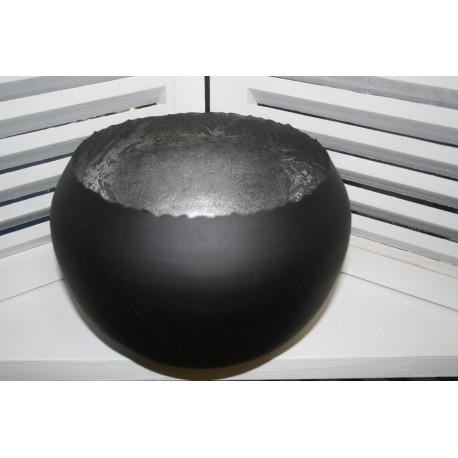 Metal round Ball hurricane Small 10 cm