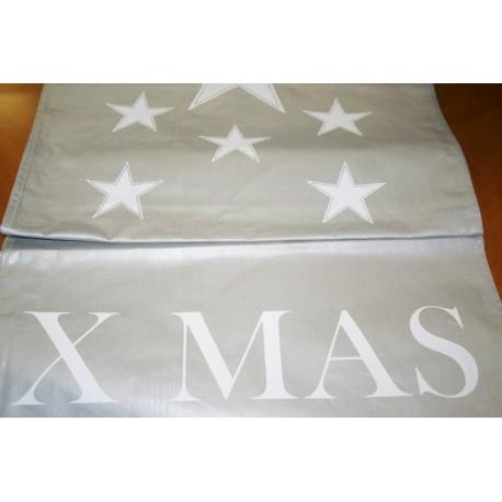 Tafelloper X MAS Stars 50 x 160 cm