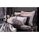 Grey fur Cushion 45 x 45 cm