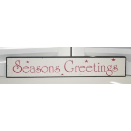 Sign wit: Seasons Greetings