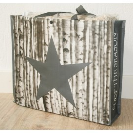 Shopper Bag Star Birch 46 x 38 cm