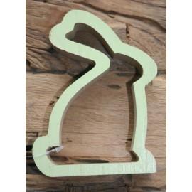 Haas silhouet groen 13 cm