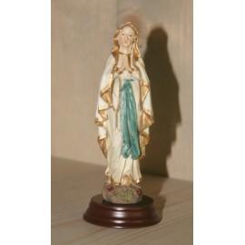 Mariabeeld met rozenkrans ca. 13 cm