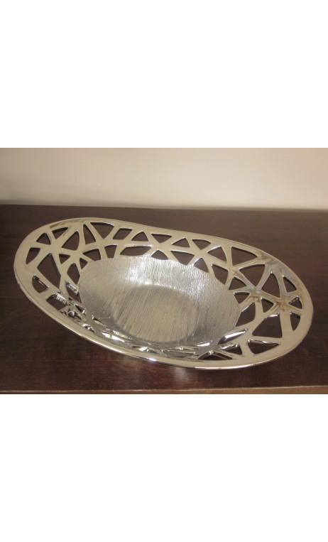 Schaal Silver bowl 11,3 X 39,4 cm
