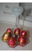 Eierrekje ook leuk met Pasen