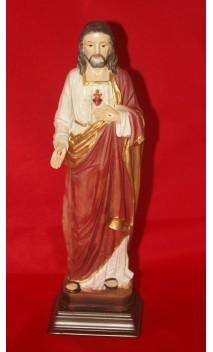 Jezus / Heilig Hart beeld 21 cm hoog