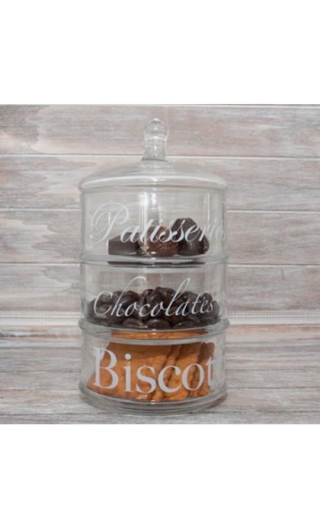 Biscotti glass 22 cm