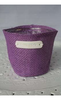 Cache-pot of sierbloempot lila, 11 cm