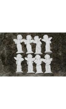 Set van 8 Engel beeldjes 7 cm hoog