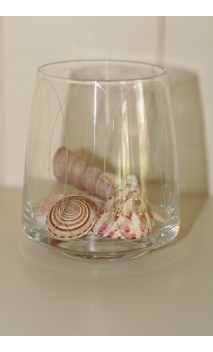 Glass tumbler loopings 10 cm
