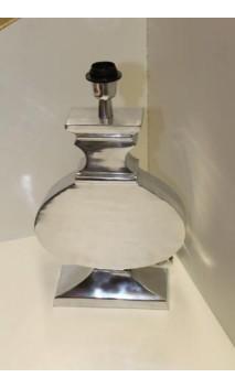 Tafel lampvoet aluminium semi glans 47 x 28 x 6 cm