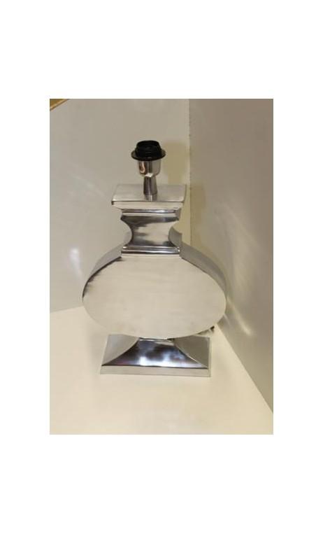 Tafellamp aluminium semi glans 47 x 28 x 6 cm