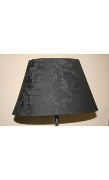 Lampenkap zwart barok 20 x34 x 20,5 cm