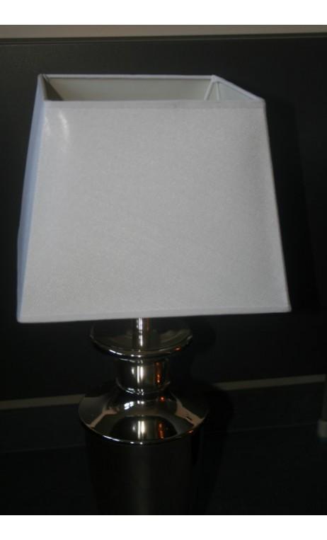 Lampenkap wit vierkant 30x 30x 23cm