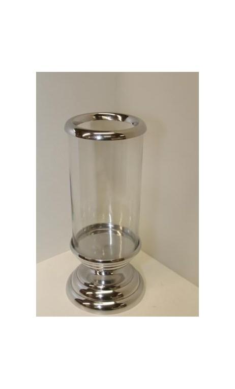 Windlicht glazen cilinder 34.5 x 14 cm