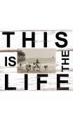 Fotolijst wit met quote: This is the Life