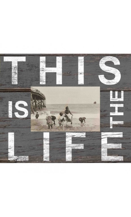 Fotolijst grijs met quote: This is the Life