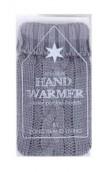 Handwarmer in grijs breisel