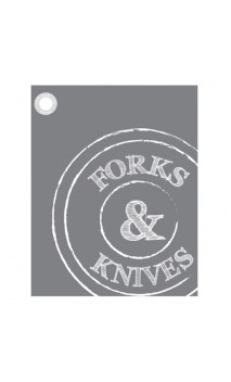 "Theedoek ""Forks & Knives"""