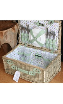 Picknickmand XL voor vier personen Botanica