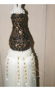 Tassel hangend XL 75 cm ook wel sleutelkwast genoemd