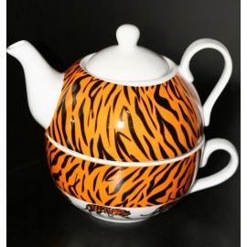 Tea for one set Tiger