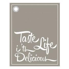"""Theedoek """"Taste"""""""