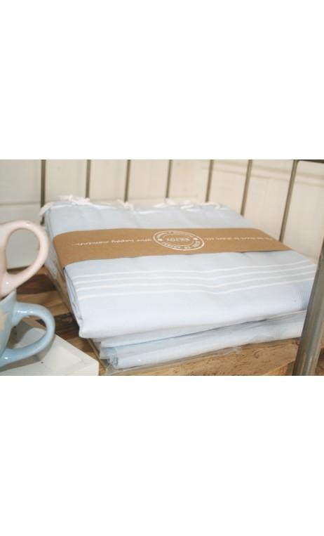 Hammamdoek babyblauw 100 x 180 cm