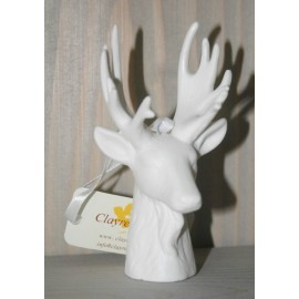 Deer head ceramic 11 cm