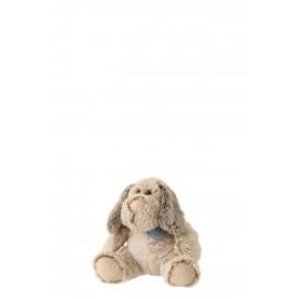 Hond sjaal zittend Plu small